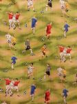 NEW! FOOTBALL MAD - Fabric 100% Cotton - Price Per Metre